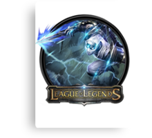 Shockblade Zed - League of Legends Canvas Print