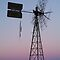 Windmill, Mt Dare Station,Outback Australia by Joe  Mortelliti