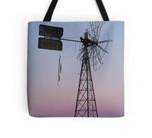 Windmill, Mt Dare Station,Outback Australia Tote Bag