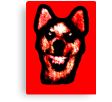 Smile Dog (CreepyPasta) Canvas Print