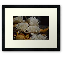 Fake Flowers Framed Print