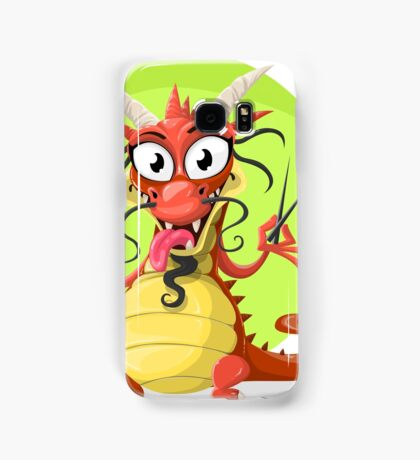 Funny chinese dragon Samsung Galaxy Case/Skin