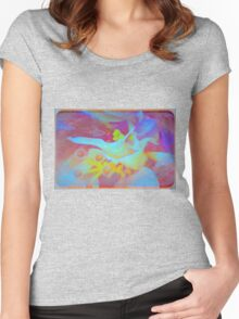 The inner hibiscus Women's Fitted Scoop T-Shirt