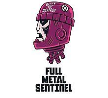 Full Metal Sentinel Photographic Print