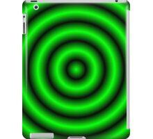 Green 3D Hoops iPad Case/Skin