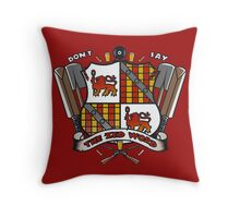 The Zed Word Throw Pillow