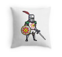 Solaire of Astora pixelated Throw Pillow