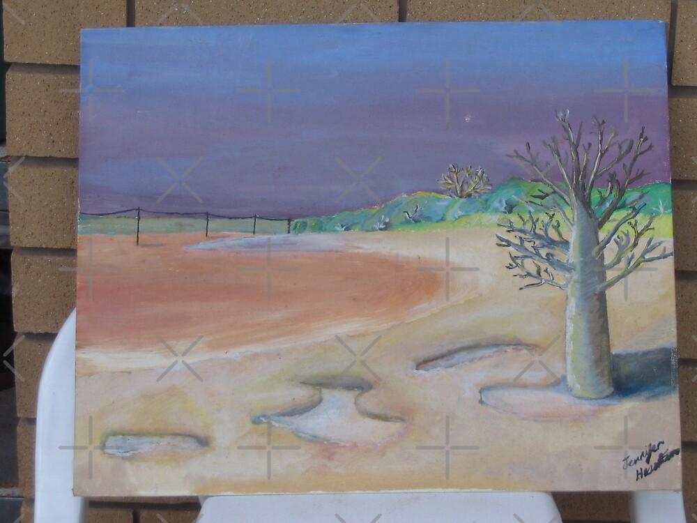 Boab at the Marsh by Jennifer Heseltine