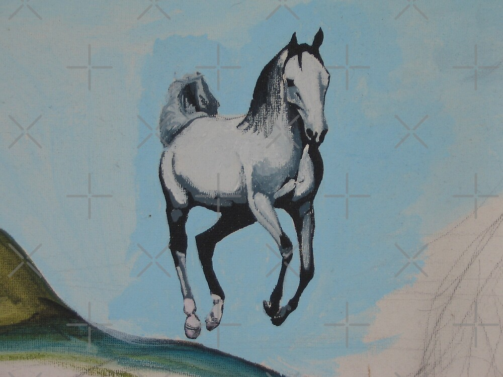 Unfinished - Horse by Jennifer Heseltine