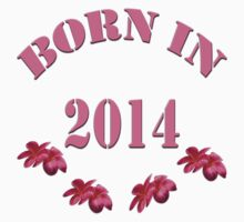 BORN IN 2014- Kids Shirt+Pillows & Totes Kids Clothes