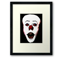 They All Float Down Here Framed Print