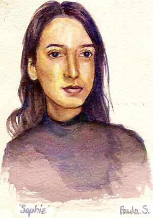 Watercolour Sophie by Paula Stirland