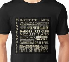 Minneapolis Minnesota Famous Landmarks Unisex T-Shirt