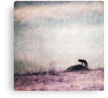 I only hear silence Canvas Print