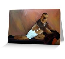 Chewbacca and the Timeless Art of Seduction Greeting Card