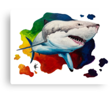 GW Shark 2 Canvas Print