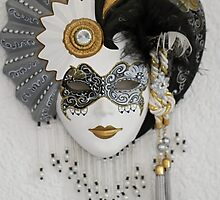 Venetian mask by franceslewis