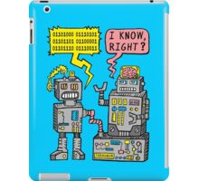 Robot Talk iPad Case/Skin