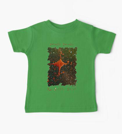 CUTE TWINKLE TWINKLE LITTLE STAR SPACE ART Baby Tee