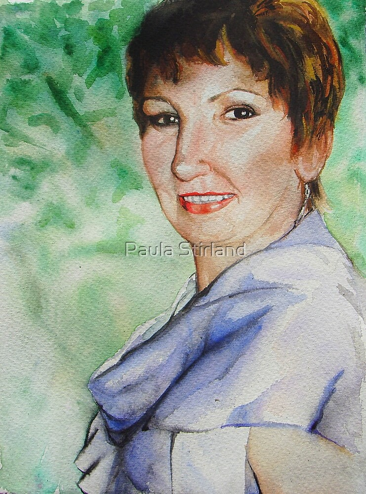 Mother's Day Portrait by Paula Stirland