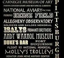Pittsburgh Pennsylvania Famous Landmarks by Patricia Lintner
