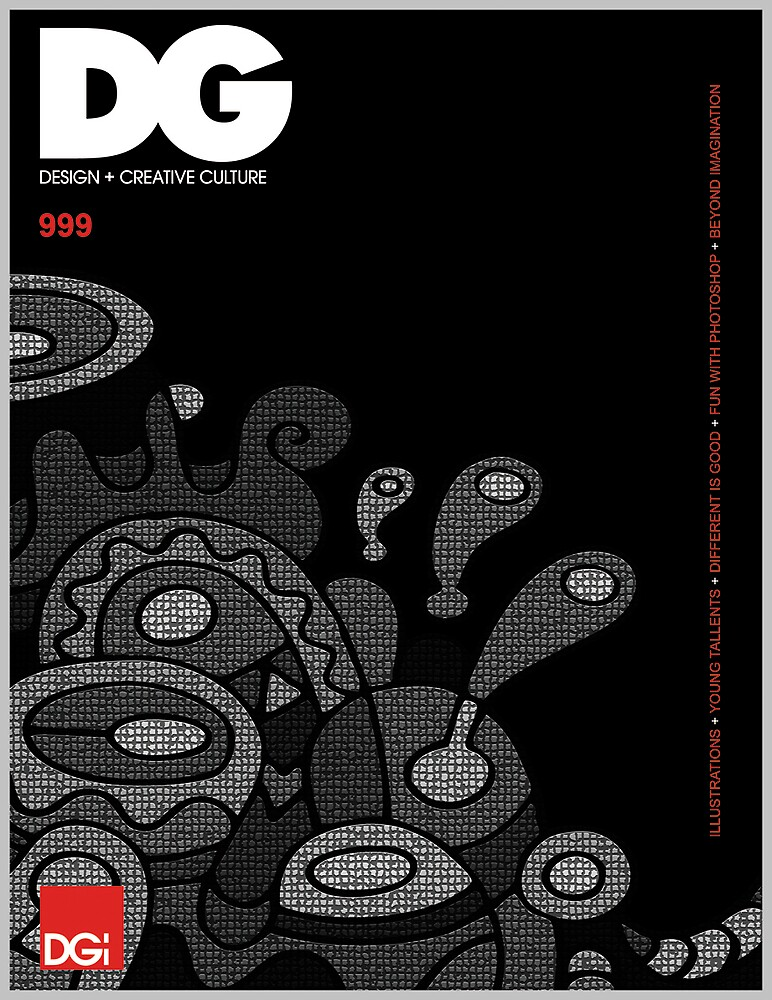 DG magazine design by Ans Phame