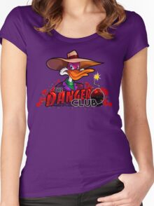 The Danger Club Women's Fitted Scoop T-Shirt