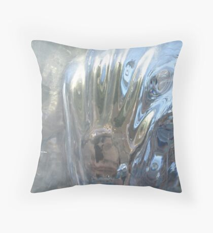 icey hands Throw Pillow