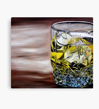 Scotch on the Rocks Canvas Print