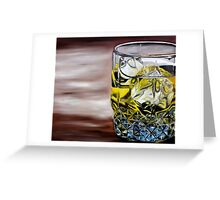 Scotch on the Rocks Greeting Card