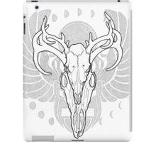 Deer Skull w/ Scarab iPad Case/Skin