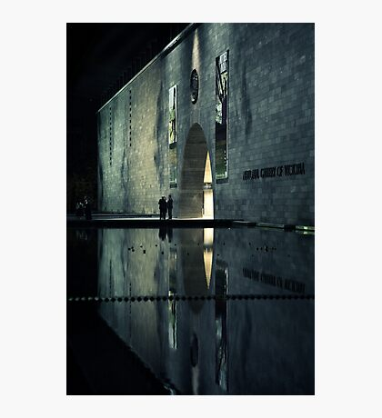 Portal reflection Photographic Print