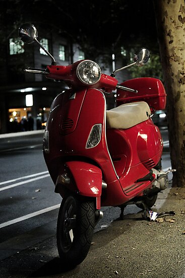Red Scooter by Pirostitch