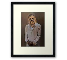 The Chewy Framed Print