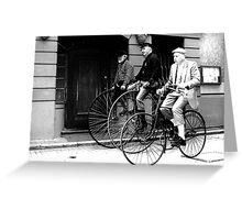 pennny farthings Greeting Card