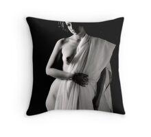draped_2 Throw Pillow