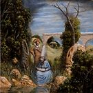 Apparition of El Greco in a Landscape by Jósean Figueroa