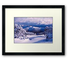 Alps View Framed Print
