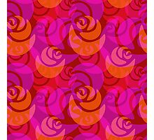 Roses pattern Photographic Print