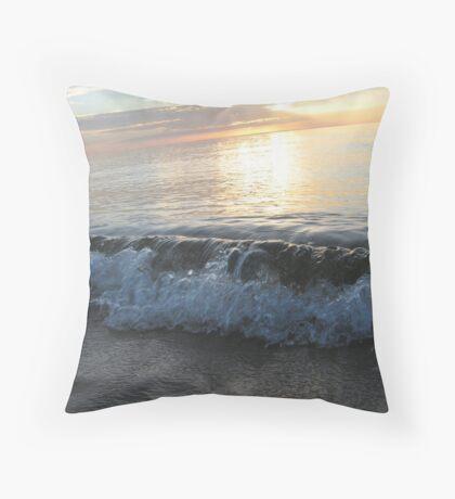 Breaking Serenity Throw Pillow