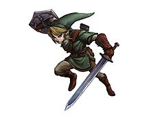 Legend of Zelda - Link Photographic Print