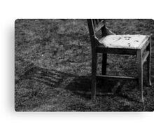 Chair Shadow Canvas Print