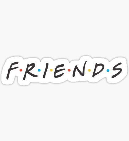FRIENDS (TV SHOW) Sticker