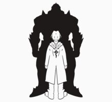 Brotherood (BLACK) - FullMetal Alchemist One Piece - Long Sleeve