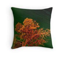 grampian tree Throw Pillow