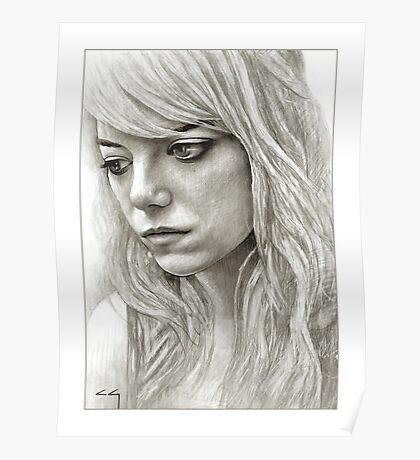 Emma Stone / Samantha Thomson / Birdman Poster