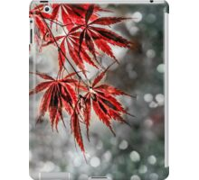 Japanese Red Maple Leaves  iPad Case/Skin