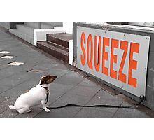 Squeeze Photographic Print