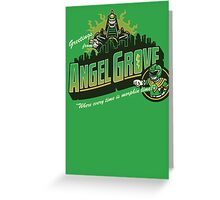 Greetings from Angel Grove! (Green Ranger) Greeting Card