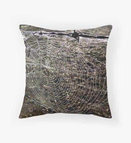 web II Throw Pillow
